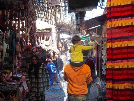 consejos para viajar con ninos a marrakech