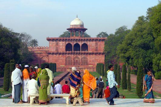 India en grupo