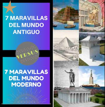 viajes beagle 7 maravillas del mundo antiguo y moderno