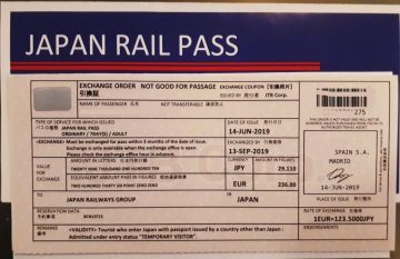 viajes beagle japan rail pass
