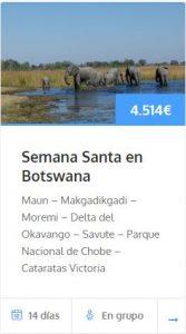 botswana viaje semana santa