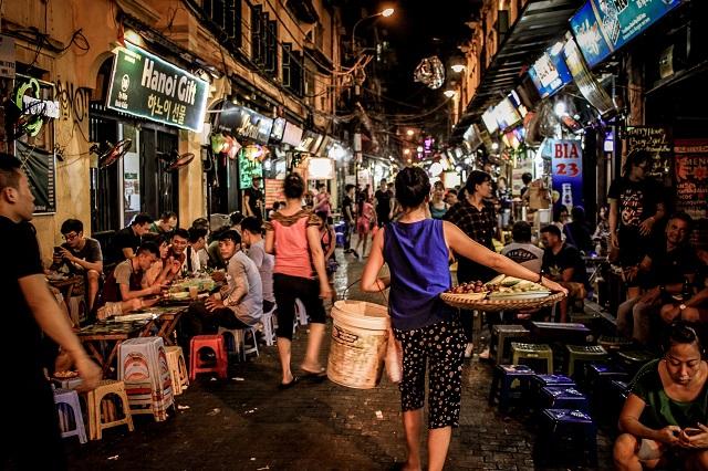 Mercado de Hanoi