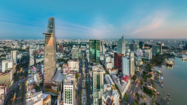 Vista de Ho Chi Minh