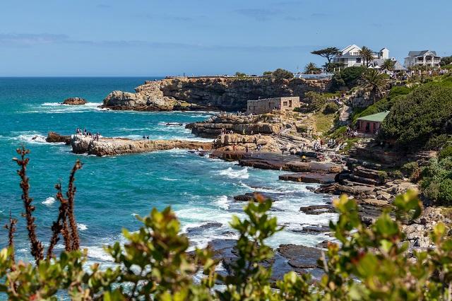Vista de Hermanus en Sudáfrica