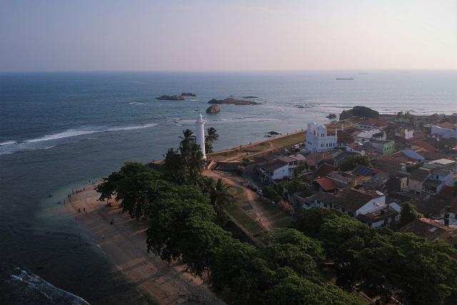 Vista de Galle, Sri Lanka