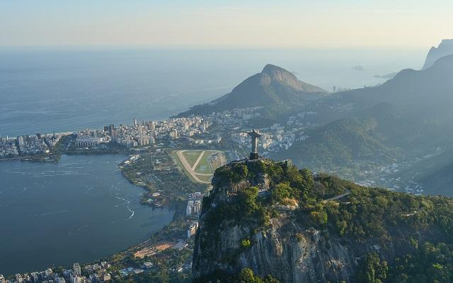 Cristo de Corcovado, uno de los monumentos de Brasil