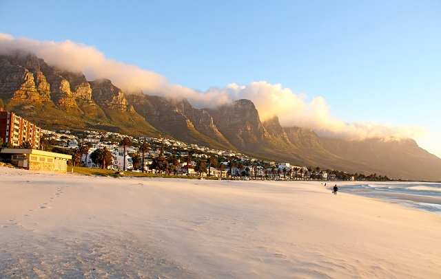 El tiempo en Sudáfrica en la playa